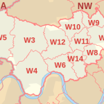 West London postcodes coverage